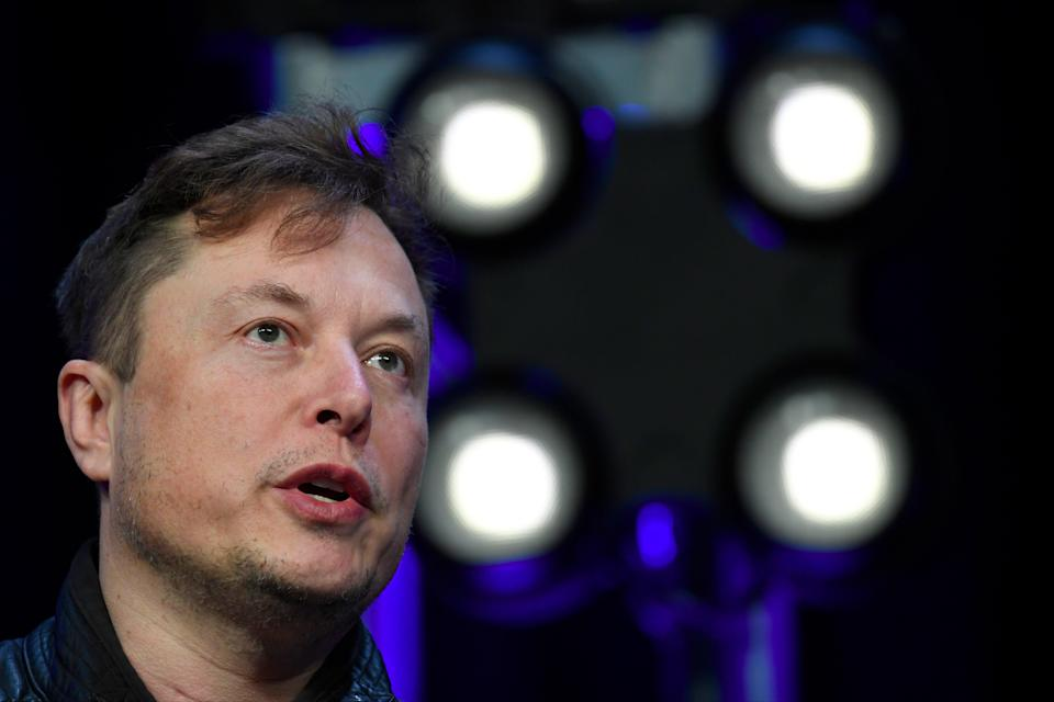 <p>Tesla and SpaceX Chief Executive Officer Elon Musk</p> (AP)