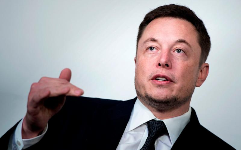 Elon Musk, chief executive of SpaceX and Tesla made the claims on social media - AFP