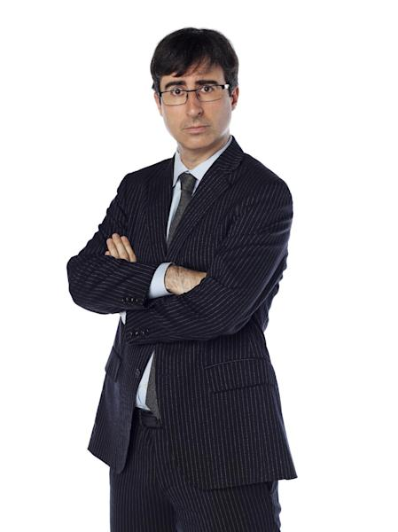"This undated image released by Comedy Central shows John Oliver, a correspondent from ""The Daily Show with Jon Stewart."" Oliver will be covering the Republican National Convention this week for ""The Daily Show,"" which will shift its regular schedule a day to broadcast four shows from Tampa Tuesday through Friday. (AP Photo/Comedy Central, Martin Crook)"