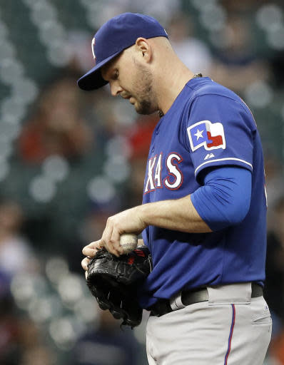 Rangers LHP Harrison has spinal fusion surgery