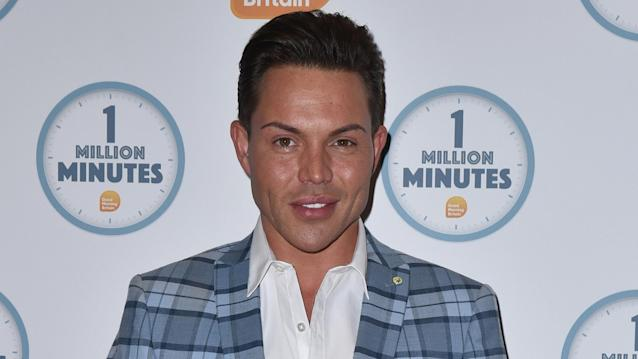 Bobby Norris attends the Good Morning Britain 1 Million Minutes Awards at Television Centre in London (James Warren / Echoes Wire/Barcroft Media via Getty Images)