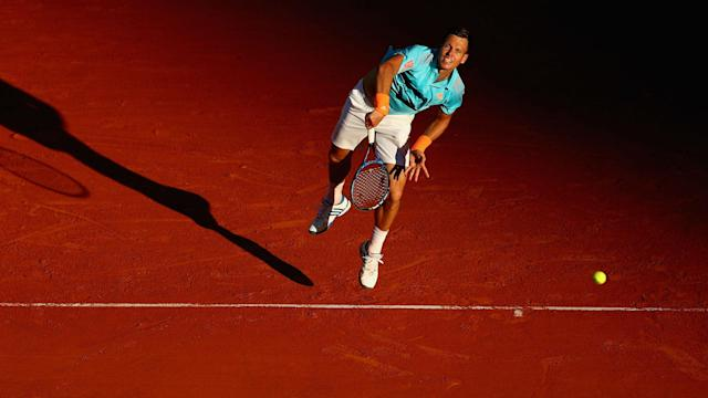 Ninth seed Tomas Berdych was tested by Andrey Kuznetsov in the Monte Carlo Masters first round, while Alexander Zverev impressed.