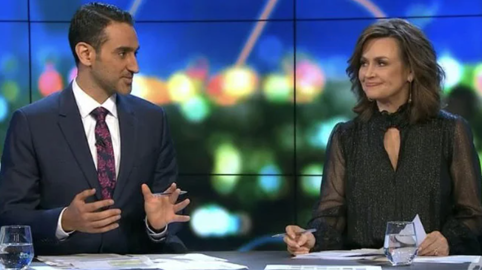 The Project hosts Waleed Aly and Lisa Wilkinson