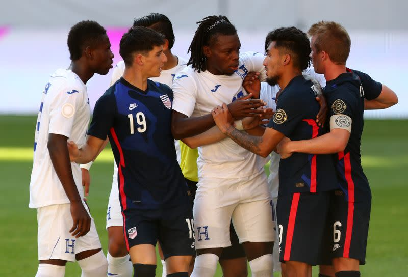 Concacaf Olympic Qualifiers - Semi final - Honduras v United States