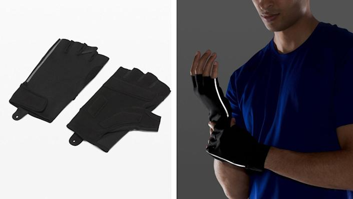 Best health and fitness gifts 2021: Lululemon License to Train gloves