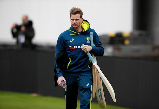 Australia's Steve Smith during nets (Photo by Action Images via Reuters/Jason Cairnduff)