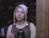 <p>In this historical drama based around Vermeer's famous painting, Johansson plays Griet, a maid charged with cleaning the painter's studio. The movie explores class struggle and forbidden love, and Johansson's restrained performance earned her yet more admiration from film fans and critics. </p>