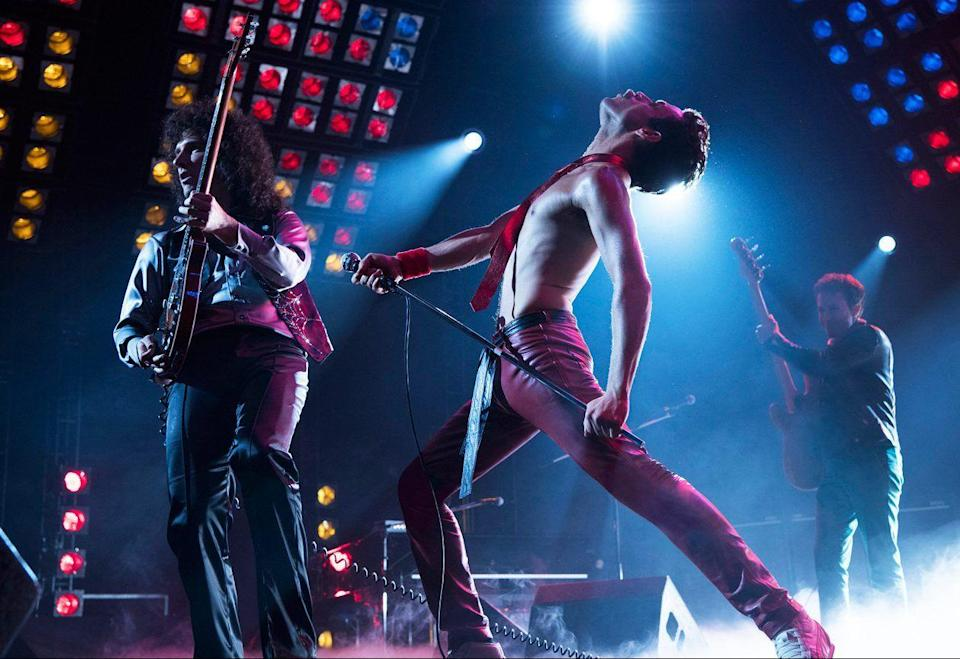 The release will omit depictions of drug use and Freddie Mercury's bisexuality.