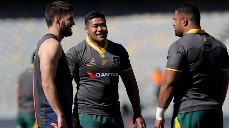 RUGBY WALLABIES CAPTAINS RUN