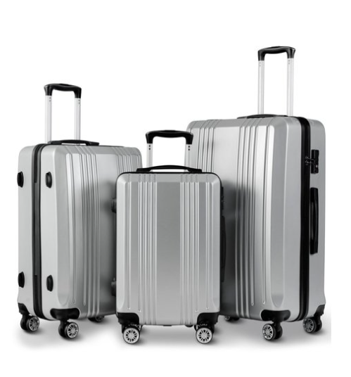 This gleaming silver is so styish, you'll look like you're transporting an enormous ransom payment to some devious international cartel. (Photo: Walmart)