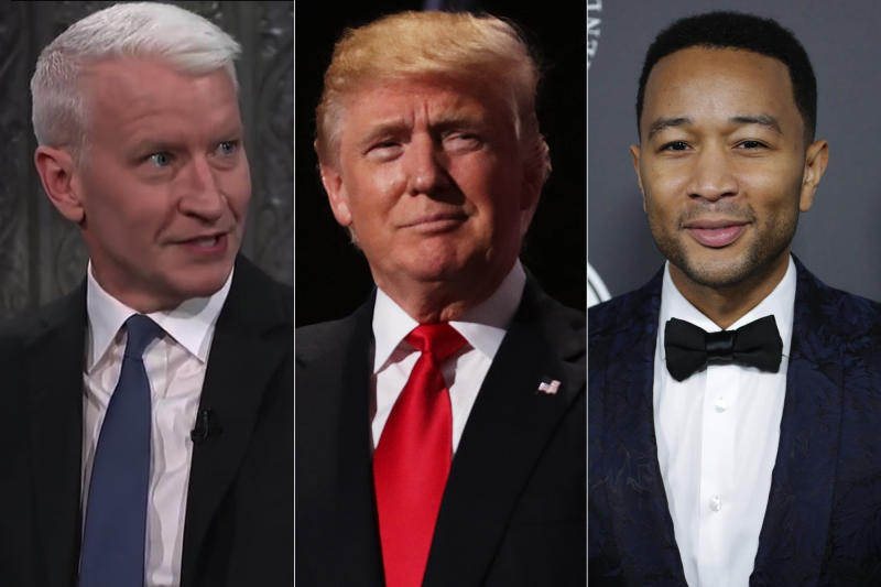 Anderson Cooper, John Legend & Others Slam Donald Trump for 'Racist' 'S--thole Countries' Comment