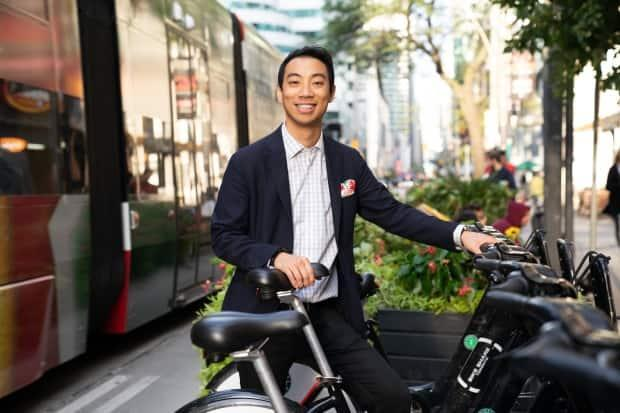 Kevin Vuong said he will serve as an Independent in his riding of Spadina—Fort York. (Pedro Marques/Kevin Vuong - image credit)