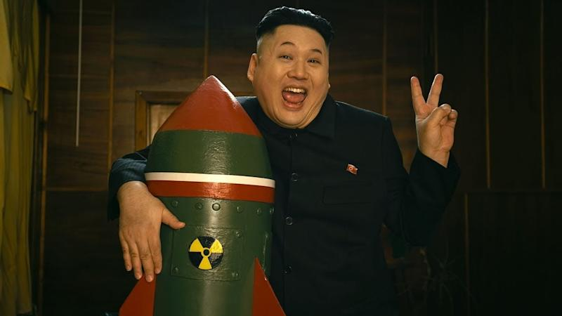 Kim Jong-un lookalike from Hong Kong falls in love with missile in Russian rave-pop video