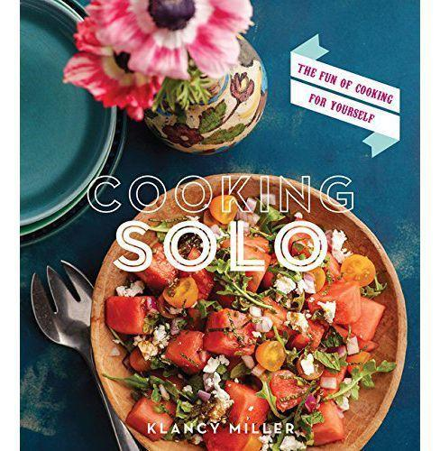 """<p><strong>By Klancy Miller</strong></p><p>bookshop.org</p><p><strong>$18.39</strong></p><p><a href=""""https://bookshop.org/books/cooking-solo-the-fun-of-cooking-for-yourself/9780544176485"""" rel=""""nofollow noopener"""" target=""""_blank"""" data-ylk=""""slk:Buy"""" class=""""link rapid-noclick-resp"""">Buy</a></p><p>If there is the faintest glint of a glimmer of a silver lining to this extended quarantine period, it's that some of us will emerge feeling more comfortable wielding a chef's knife and saute pan. And for some of us, cooking alone no longer seems quite the monstrous task. Miller was the pastry chef a Taillevent in Paris, but her book is only reminiscent of fine dining in that she'll be having you happily making meals for yourself that entail more than eggs, scrambled or fried. Think Tahitian noodle sandwich and mackerel with lemon and capers. <em>—S.R.</em></p>"""