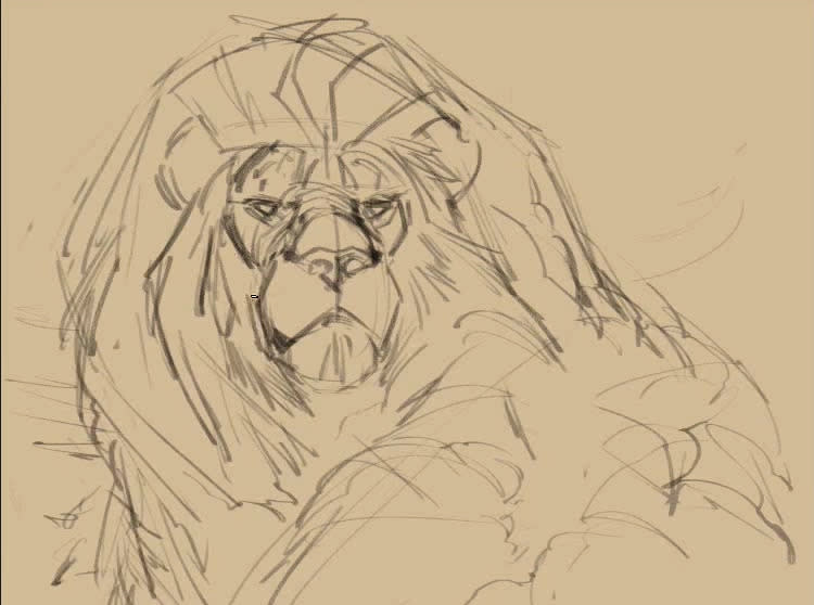 """<p>In addition to the finished drawing, Blaise posted a<a href=""""https://creatureartteacher.com/cecil-the-lion-portrait-time-lapse-video/"""">pretty incredible time lapse video</a> of how he created the artwork. Blaise also video workshops on how to animate animals, including <a href=""""https://creatureartteacher.com/product/how-to-draw-animals-course-big-cats/"""">a new one specifically on big cats</a>. (Credit: <a href=""""https://creatureartteacher.com/"""">Aaron Blaise/CreatureTeacher</a>)</p>"""
