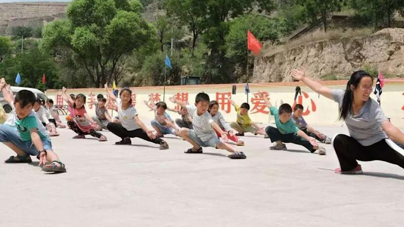 The Chinese teacher who is 'mother' to more than 300 left-behind children