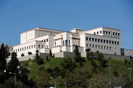 FILE PHOTO: U.S. Consulate is pictured in Istanbul