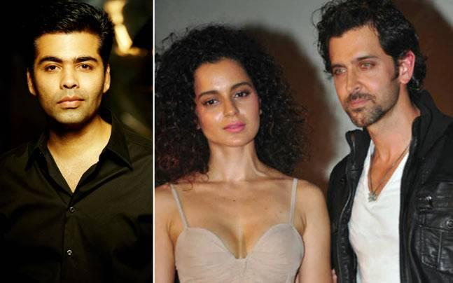 Karan Johar slams Kangana: Is Hrithik Roshan the reason?