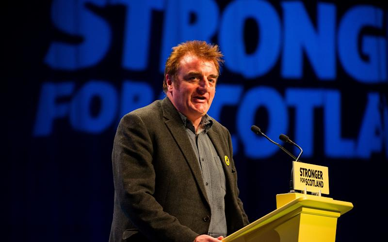 SNP MP Tommy Sheppard has argued the Scottish Greens should not stand candidates in Tory target seats - All images © Stuart Nicol Photography 2014.