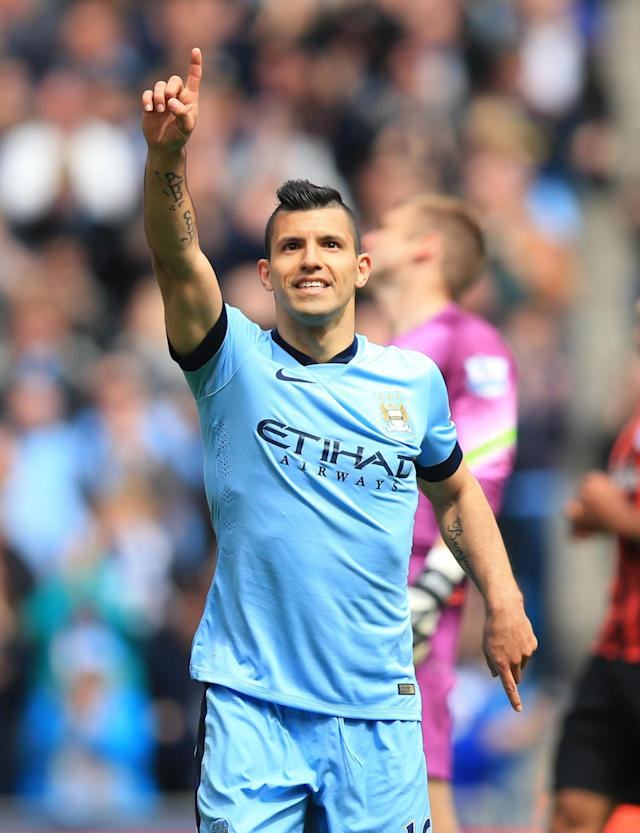 <p>The Argentinian led Manchester City to second place in the table with 26 goals in 31 games. </p>