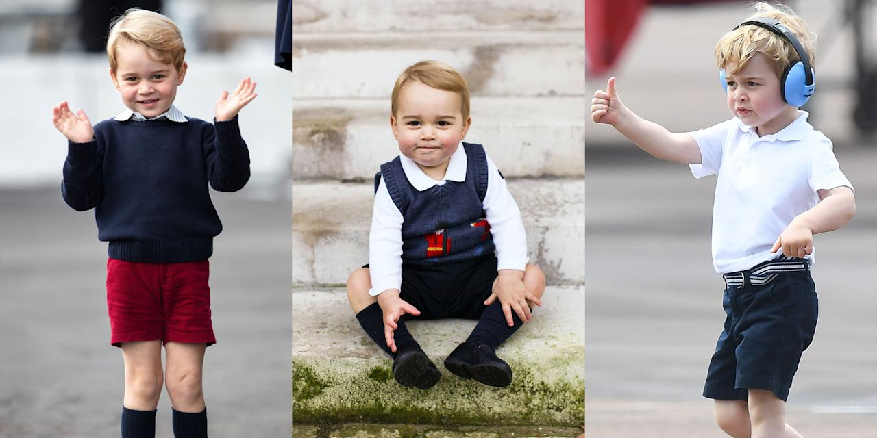 """<p><a href=""""https://www.marieclaire.com/celebrity/a21236575/prince-george-trooping-the-colour-2018-photos/"""" target=""""_blank"""">Prince George</a> is turning six on July 22 and the future King of England is getting cuter by the day. Last year he became a big brother for the second time and in May he became a big cousin to <a href=""""https://www.marieclaire.com/celebrity/a28350446/meghan-markle-archie-harrison-prince-harry-polo-match/"""" target=""""_blank"""">Archie</a>. We've rounded up the sweetest pics of George so you can see just how much he's changed since he was just a little round blob of cuteness. </p>"""