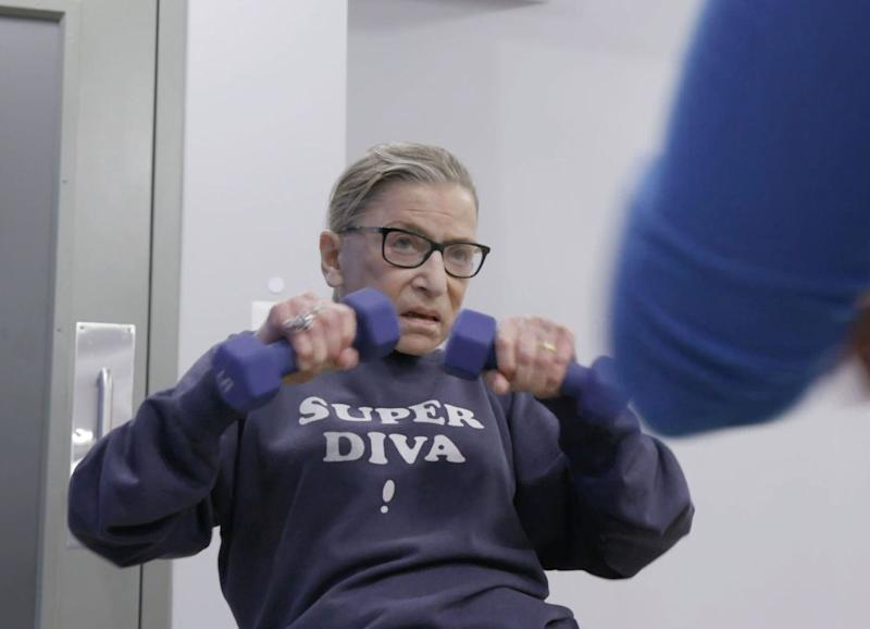 Ruth Bader Ginsburg Eager to Hit the Gym After Cancer Surgery: 'When Can We Go Back to Training?'