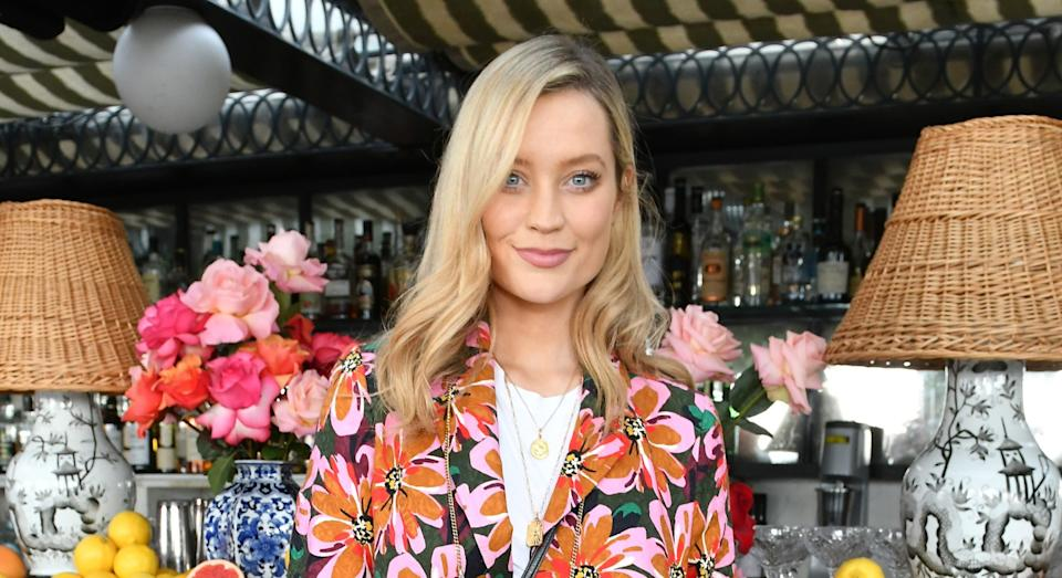 Laura Whitmore and husband Iain Stirling are believed to have wed in November. (Getty Images)