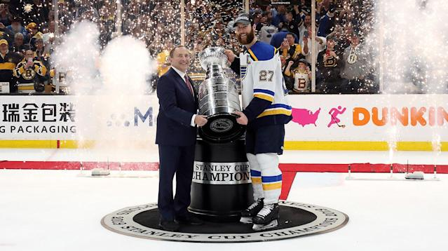 Gary Bettman has no intentions of compromising the integirty of the Stanley Cup journey. (Photo by Bruce Bennett/Getty Images)
