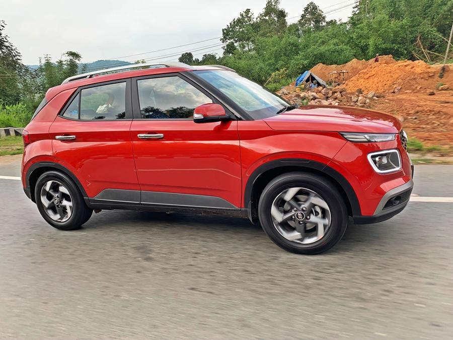 This is the most affordable car. It offers 'connected technology' and is a compact SUV that checks all the boxes. That it offers a turbo petrol and a dual clutch gearbox makes the Venue no-brainer in the VFM stakes.