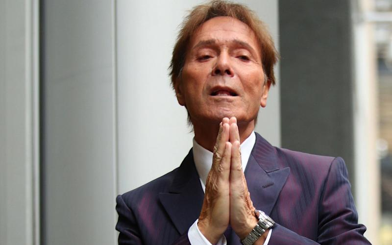 Sir Cliff is suing the BBC for 'substantial damages' over its coverage of the raid at his penthouse apartment in Sunningdale, Berkshire - PA