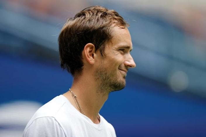 Russian second seed Daniil Medvedev launches his US Open campaign on Monday against France's Richard Gasquet (AFP/Sarah Stier)