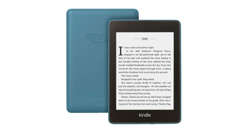 The thinnest, lightest Kindle yet—with a glare-free display that reads like real paper even in bright sunlight. Now waterproof with 2x the storage (Photo: Amazon)