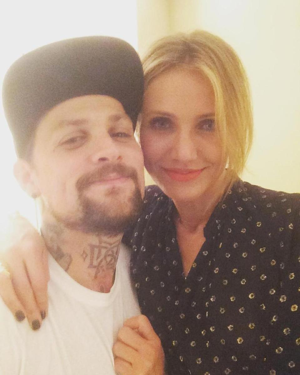 """<p>""""Happy Birthday to my Beautiful Wife?My best friend and Everything else—there's so much I could write,"""" he wrote on <a href=""""https://www.instagram.com/p/7Bqg1GnGxf/?taken-by=benjaminmadden"""" rel=""""nofollow noopener"""" target=""""_blank"""" data-ylk=""""slk:Instagram"""" class=""""link rapid-noclick-resp"""">Instagram</a>. """"I'm the luckiest guy alive—I get to spend the rest of my life right here. I love this Woman!!Many more Baby!!""""</p>"""