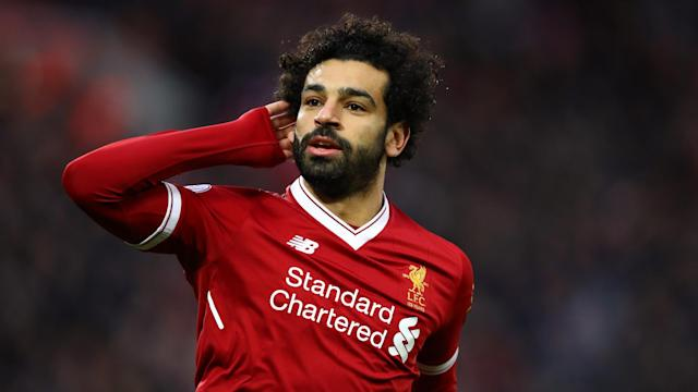 Salah on song: The Egyptian has taken Anfield by storm this season – now for the Champions League