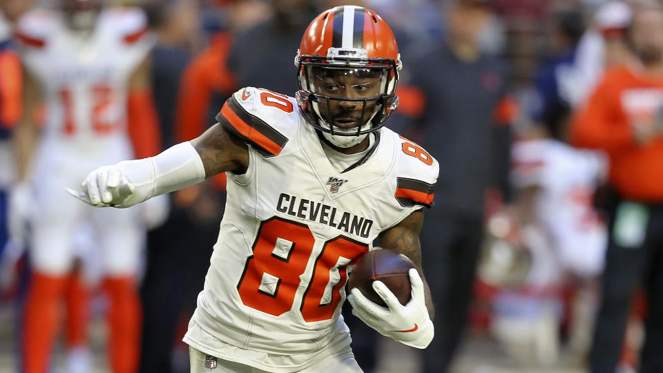 Jarvis Landry has played in 95 consecutive games in the NFL, and isn't about to miss one now — even with a fractured vertebra.