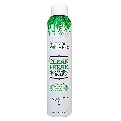 "<p>""I love the smell of the <span>Not Your Mother's Clean Freak Dry Shampoo </span> ($7) and that it doesn't make my hair white."" - Victoria Messina, associate editor, Trending and Viral Features</p>"