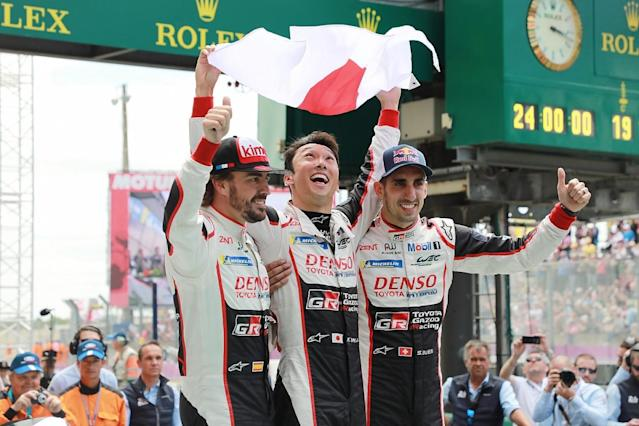 "Toyota team director Rob Leupen says double Formula 1 world champion Fernando Alonso was ""exceptional"" on his Le Mans 24 Hours debut in helping Toyota to finally win the race"