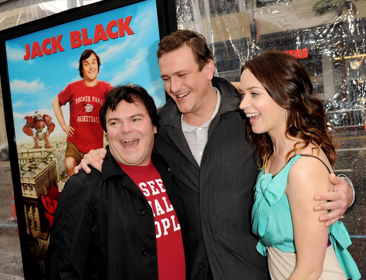 Emily Blunt starred in Gulliver's Travels opposite Jack Black and Jason Segel. (Photo by Kevin Winter/Getty Images)