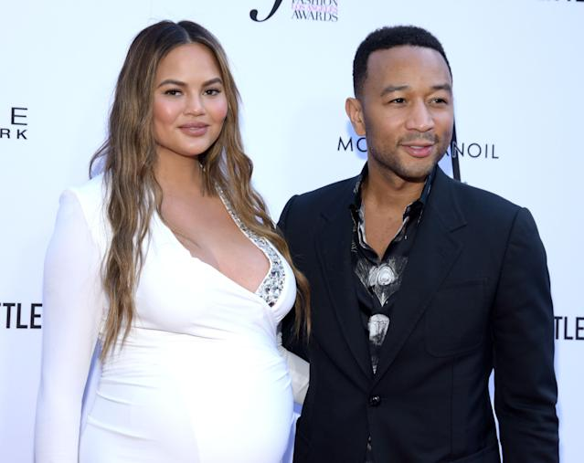 Chrissy Teigen, the wife of John Legend, defended Southwest Airlines after a mom complained she was asked to prove the identity of her biracial son. (Photo: Getty Images)