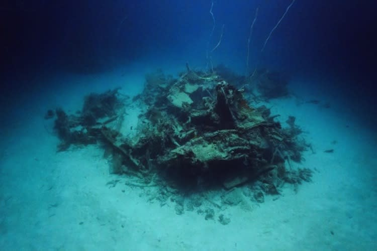 A World War II-era TBM-1C Avenger aircraft was located by Project Recover in waters surrounding the Pacific Island nation of Palau.