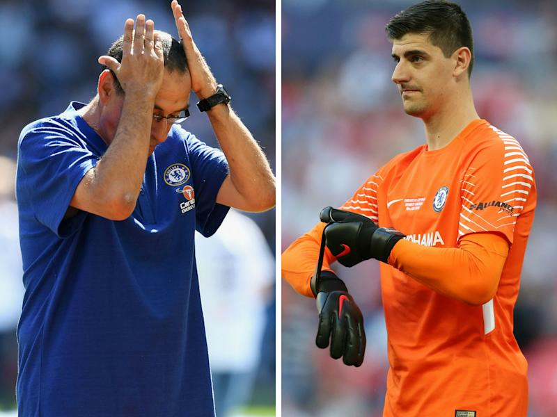 Thibaut Courtois' Chelsea future could be decided tomorrow