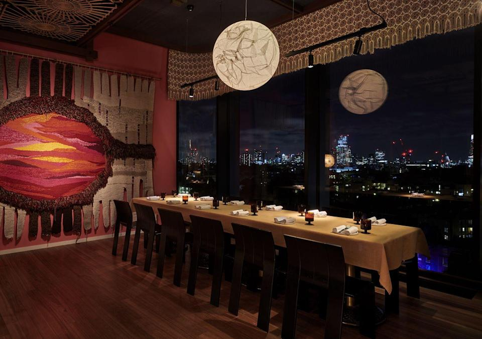 """<p>The London instalment of this cult hotel brand landed in late 2019 and, thanks to global circumstances that do not need explaining, had a somewhat staggered start. Now, it is largely back in business and so is its sterling live music programme. </p><p>The hotel's retro ground-floor bar, brilliantly titled Double Standard, spills on to a sunlit courtyard hugged by tropical foliage that will easily kid you into thinking you have dodged travel bans and actually made it abroad. There you can ease into the weekend with Love-In Fridays: live party jams pumped out alongside the bar's signature cocktails, before the terrace also plays host to Sunday afternoon brunch with DJs. Ibiza who?</p><p>One of its best offerings, however, is Live on Ten; jazz and soul bands playing live at The Standard's finest 10th-floor eatery Decimo. Here you can gorge yourself on head chef Peter Sanchez-Iglesias's Spanish and Mexican flavours; delicate scallops and punchy tacos washed down with smoky margaritas. Can't face heading home? Combine it with an overnight stay in one of the Kings Cross hotel's effortlessly cool, Mad-Men inspired rooms. </p><p><a class=""""link rapid-noclick-resp"""" href=""""https://www.standardhotels.com/london/properties/london"""" rel=""""nofollow noopener"""" target=""""_blank"""" data-ylk=""""slk:BOOK NOW"""">BOOK NOW</a></p>"""