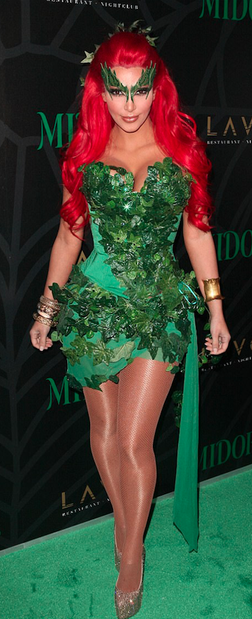 <p>Kimmy trug das Outfit 2011 zur Midori Green Halloween Party in New York City zuerst. (Bild: Getty Images) </p>