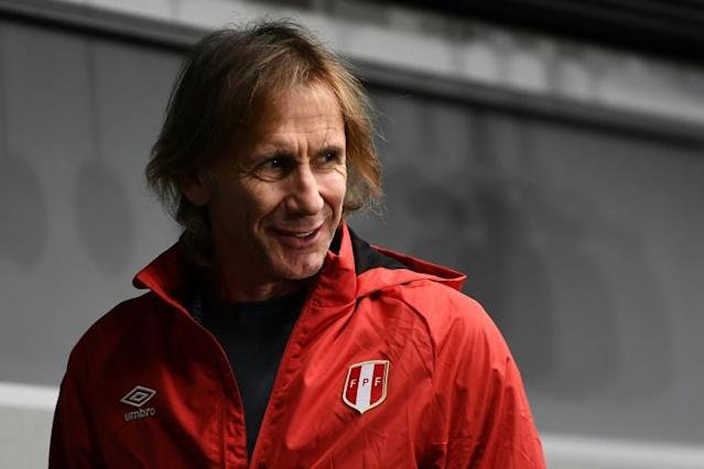 Peru coach Ricardo Gareca - 'we are not on France's level'