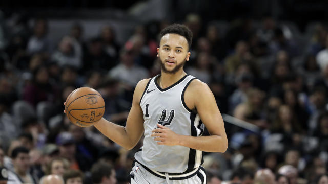 "<a class=""link rapid-noclick-resp"" href=""/nba/players/5341/"" data-ylk=""slk:Kyle Anderson"">Kyle Anderson</a> is cashing in after four solid years with the <a class=""link rapid-noclick-resp"" href=""/nba/teams/sas"" data-ylk=""slk:Spurs"">Spurs</a>. (AP Photo)"