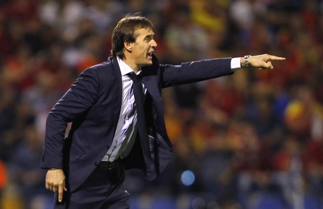 Julen Lopetegui will take over as Real Madrid manager after the World Cup with Spain. (AP)