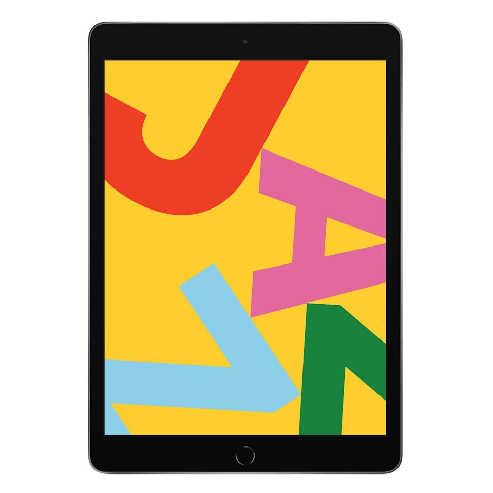 """<p><strong>Apple</strong></p><p>walmart.com</p><p><strong>$279.00</strong></p><p><a href=""""https://go.redirectingat.com?id=74968X1596630&url=https%3A%2F%2Fwww.walmart.com%2Fip%2F607246650&sref=https%3A%2F%2Fwww.bestproducts.com%2Ftech%2Fgadgets%2Fg261%2Fbest-tablets-on-the-market%2F"""" rel=""""nofollow noopener"""" target=""""_blank"""" data-ylk=""""slk:Shop Now"""" class=""""link rapid-noclick-resp"""">Shop Now</a></p><p>The Apple iPad is the best tablet for thrifty buyers. Priced below $300, it has solid hardware specs, headlined by a high-quality 10.2-inch Retina display, and support for the excellent Apple Pencil. An editor from <a href=""""https://www.engadget.com/2019-10-09-apple-ipad-review-10-2-inch-2019.html"""" data-ylk=""""slk:Engadget"""" class=""""link rapid-noclick-resp"""">Engadget</a> rightfully concluded that the slate is """"a solid buy for shoppers on a budget.""""<br></p><p>Best of all, thanks to iPadOS, the affordable iPad gives users access to countless apps and games designed to look great on its large display, including augmented reality titles. Of course, the tablet also comes with a year worth of free <a href=""""https://go.redirectingat.com?id=74968X1596630&url=https%3A%2F%2Fwww.apple.com%2Fapple-tv-plus%2F&sref=https%3A%2F%2Fwww.bestproducts.com%2Ftech%2Fgadgets%2Fg261%2Fbest-tablets-on-the-market%2F"""" rel=""""nofollow noopener"""" target=""""_blank"""" data-ylk=""""slk:Apple TV+ streaming"""" class=""""link rapid-noclick-resp"""">Apple TV+ streaming</a>. </p><p>There are three colors (silver, gold, and space gray) and two storage variants to pick from 32 and 128 GB), as well as the option to pick a model with LTE connectivity.</p>"""