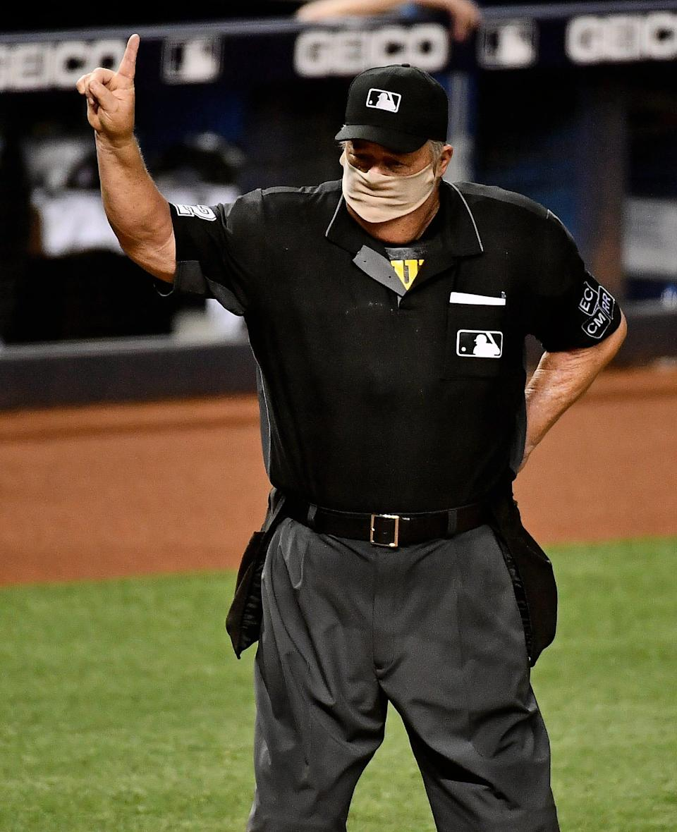 Joe West is set to umpire the most games in major-league history.