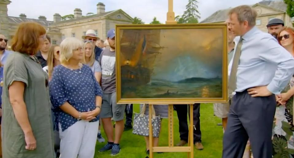 Claude TS Moore painting on Antiques Roadshow.