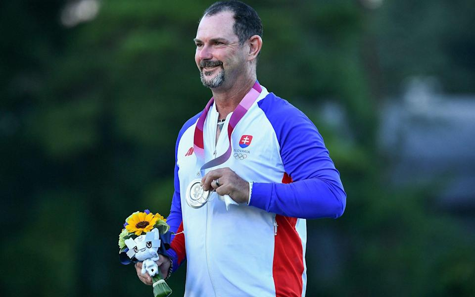 Sabbatini's final-round 61 earned him silver - AFP